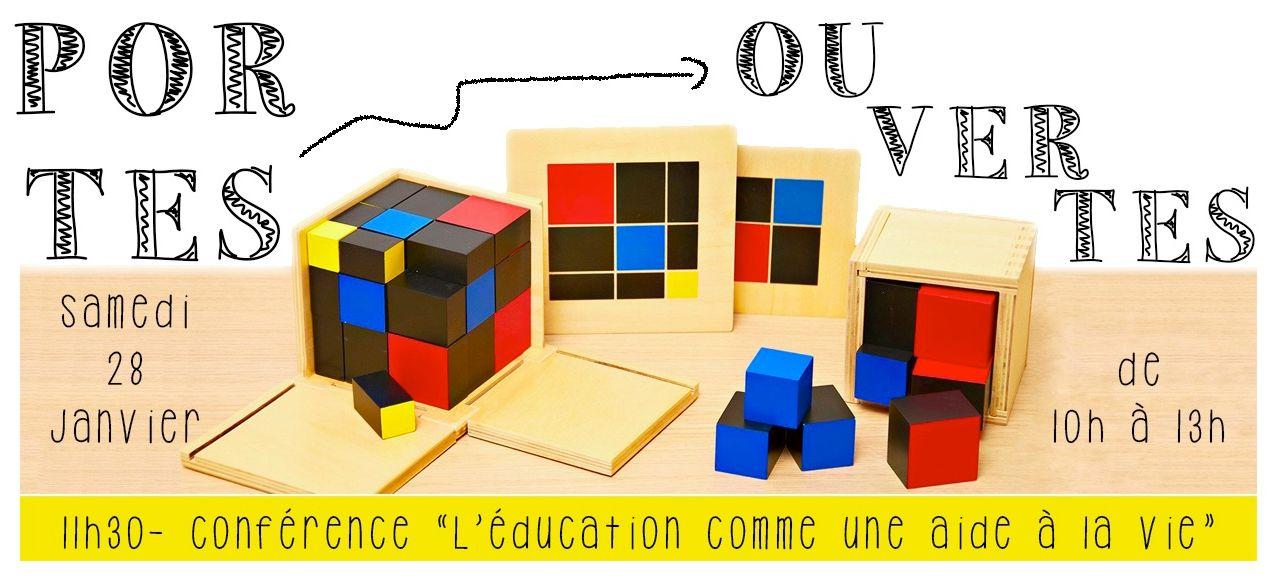 Portes Ouvertes Ecole Montessori Bilingue Rueil-Malmaison