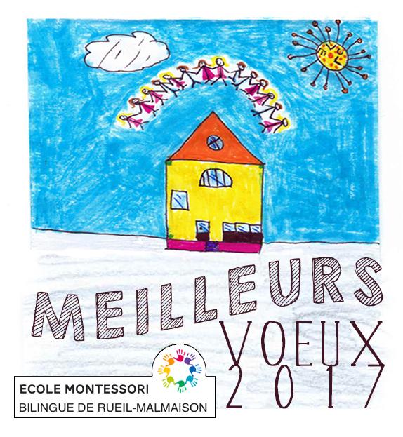 Bonne Année 2017 Ecole Montessori Bilingue Rueil-Malmaison